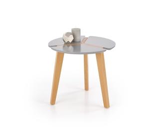 Kafijas galdiņš Halmar Zeta Grey, 500x500x450 mm