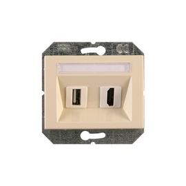 HDMI UN USB KONTAKTLIGZDA SMILŠU K XP500