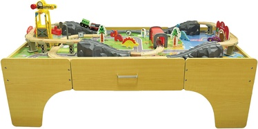 Komplekts 4IQ City Of Dinosaurs Wooden Game Table