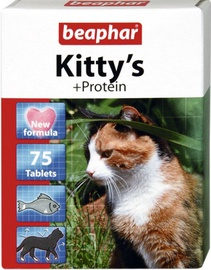 Beaphar Kittys With Protein 75 Tablets