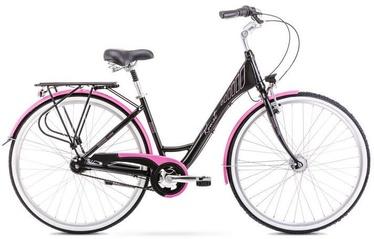 """Romet Moderne 7 19"""" 28"""" Black Pink 20"""