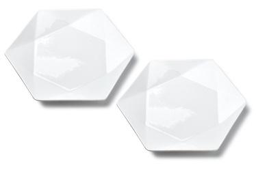 Šķīvs Mondex Ralph Dessert Plates White 2pcs