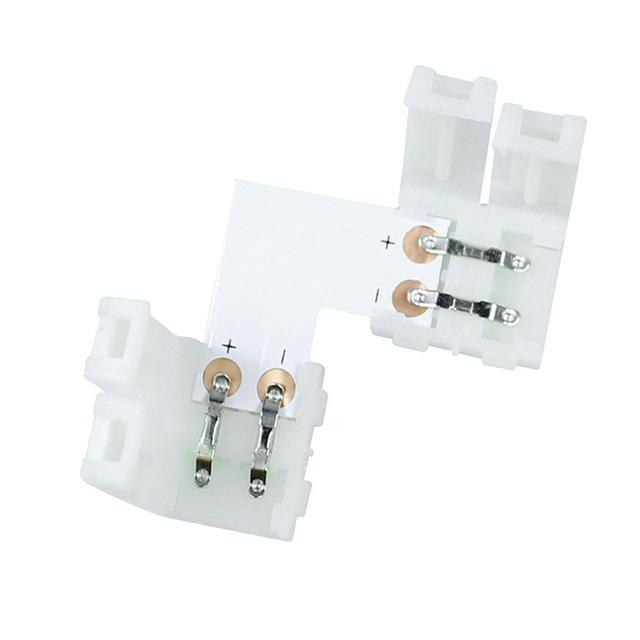 Savienojums led lentai LED-CON-L10, 10mm L saspiežams