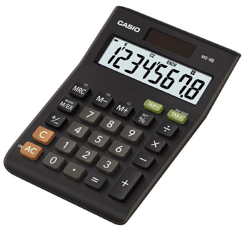 Casio Calculator MS-8B