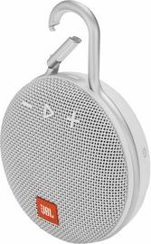 Bezvadu skaļrunis JBL Clip 3 White, 3 W