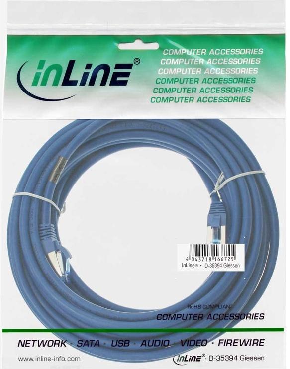 InLine 76800B Cat.6A 10m 500MHz Blue