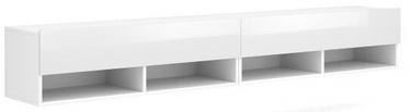 ТВ стол Vivaldi Meble Derby 280, белый, 2800x310x300 мм