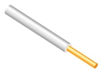Lietkabelis PV-1/H07V-U, 1 x 10 mm²