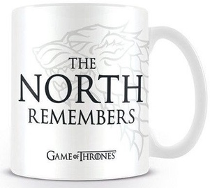 Licenced Game Of Thrones Mug The North Remembers