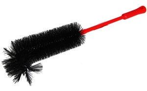 Coronet Dust Brush 40cm Black/Red
