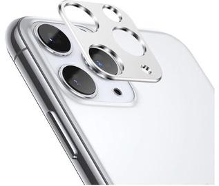 TakeMe Aluminum Camera Cover For Apple iPhone 11 Pro/Pro Max Silver