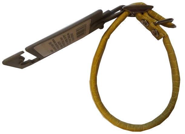 Hunter Dog Collar Croque Yellow 37/6
