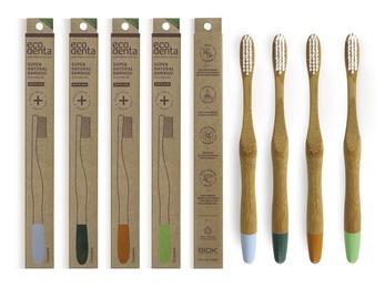 Зубная щетка Ecodenta Bamboo