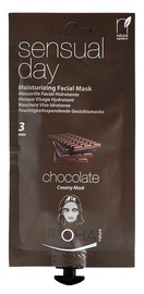 Sejas maska Iroha Nature Peel-Off Moisturizing Creamy Facial Mask Sensual Day Chocholate, 25 ml