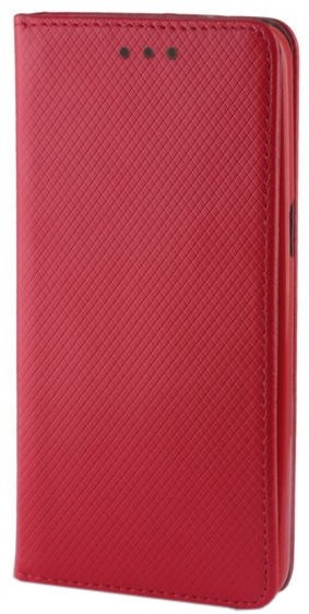 Mocco Smart Magnet Book Case For Samsung Galaxy A8 Plus A730 Red
