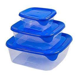 Curver Fresh&Go Food Dish Set 3pcs Blue