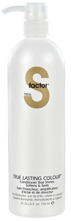 Matu kondicionieris Tigi S Factor True Lasting Colour Conditioner, 750 ml