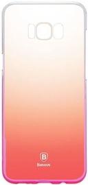 Baseus Glaze Case For Samsung Galaxy S8 Plus Transparent/Pink
