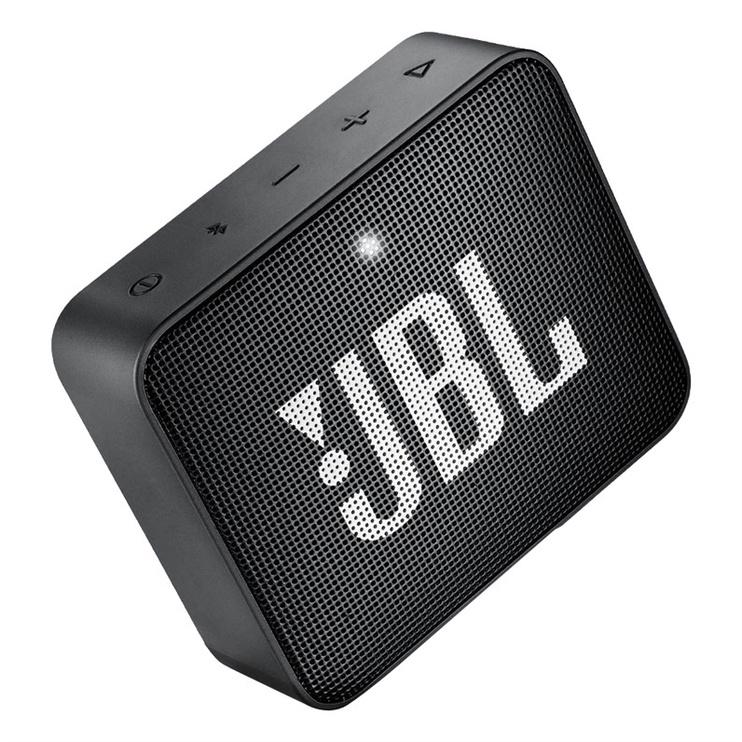 Bezvadu skaļrunis JBL Go 2 Midnight Black, 3 W