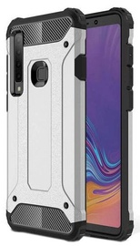 Hurtel Hybrid Armor Back Case For Samsung Galaxy A9 Silver