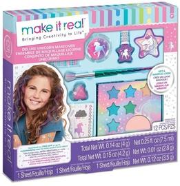 Bērnu kosmētikas komplekts Make It Real Deluxe Unicorn Makeover