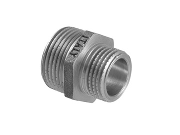 "TDM Brass Adapter I/I 3/4""x1/2"" Silver"