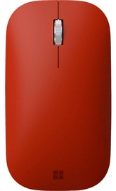 Datorpele Microsoft Surface Mobile Mouse SC Bluetooth Poppy Red, bezvadu, optiskā