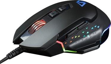 Spēļu pele California Access Wildcat CA-1035 Black, vadu, optiskā