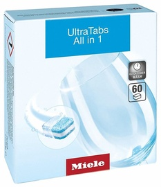 Trauku mazgājamās mašīnas kapsulas Miele UltraTabs All In 1, 60 gab.