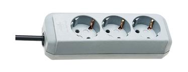 Brennenstuhl Eco-Line Extension Socket 3 Outlets Gray