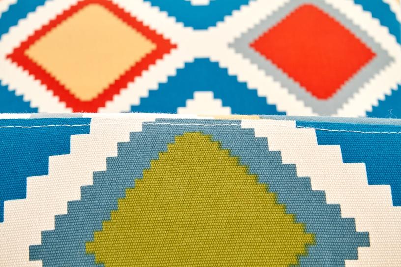 Atzveltnes krēsls Halmar Fido, daudzkrāsains, 65x52x75 cm