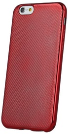 Mocco Carbon Premium Series Back Case For Huawei P10 Lite Red
