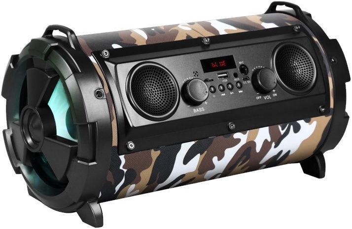 Bezvadu skaļrunis Rebeltec SoundTube 190, brūna/daudzkrāsains, 30 W