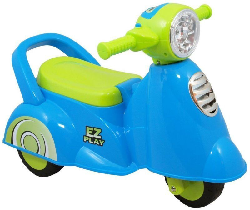 As Company Ride-On Scooter HZ605 Blue