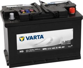 Akumulators Varta ProMotive HD Black H9, 12 V, 100 Ah, 720 A