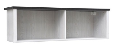 Black Red White Porto Cabinet White