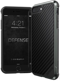 X-Doria Defense Lux Back Cover For Apple iPhone 7 Plus/8 Plus Black Carbon