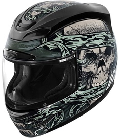 Icon Helmet Am Vitriol Multicolor L