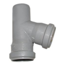 TREJGABALS PVC 50X50/67 BALTS (50) (WAVIN)