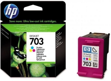 HP 703 Cartridge 4ml Tri-colour