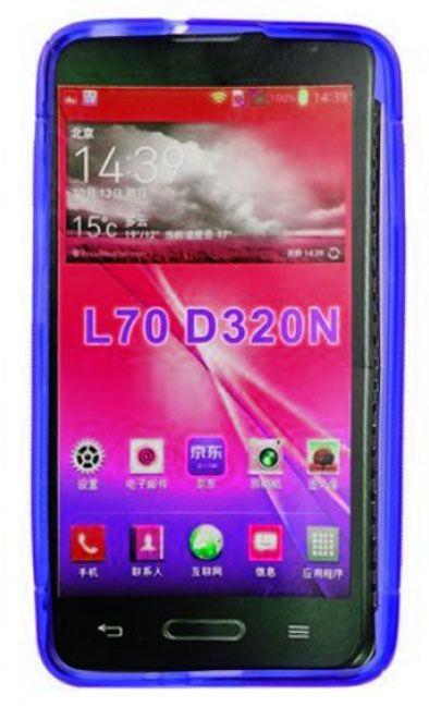 Telone Back Case S-Case for LG D320 L70 Blue