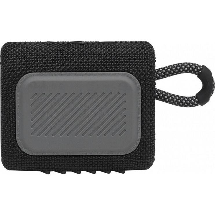 Bezvadu skaļrunis JBL GO 3, melna, 4 W