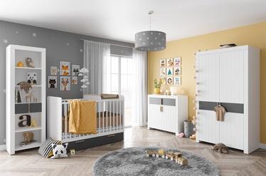 Bērnu istabas mēbeļu komplekts Szynaka Meble Picolo White/Grey