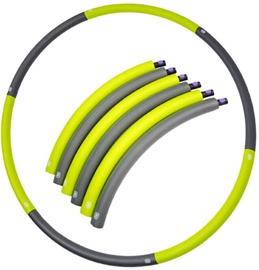 Vingrošanas loks SportVida Hula Hoop Ring 90cm Grey/Green