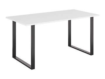 Pusdienu galds Black Red White Vario Modern NMPK Black/White, 1600x800x760 mm