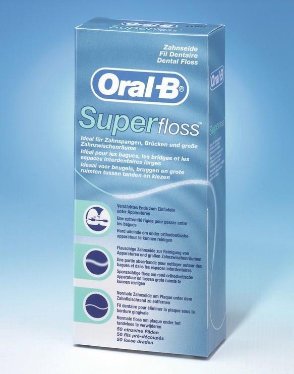 Oral-B Superfloss 50m