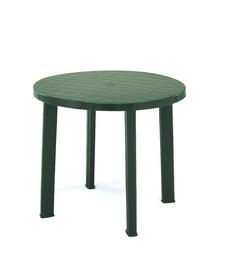 Dārza galds Diana Tondo Green, 90 x 90 x 72 cm