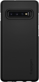 Spigen Thin Fit Back Case For Samsung Galaxy S10 Plus Black