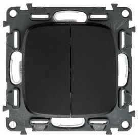 Legrand Allure 755930 Light Switch Black