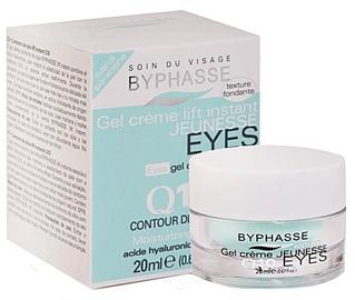 Acu krēms Byphasse Q10 Instant Lift Eye Gel Cream, 20 ml